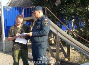 С начала года пожарные инспекторы Северной Осетии обследовали 231 объект