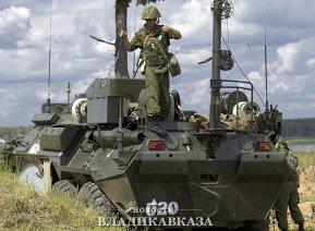 Военные связисты в Северной Осетии провели тренировку на новой технике