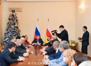 Вячеслав Битаров встретился с медиками Северной Осетии