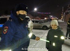 ГИБДД провела мероприятие  «Пешеход» в Ирафском районе Северной Осетии