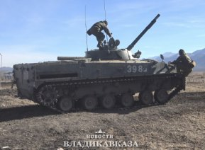 На полигоне Тарское прошли контрольные стрельбы из БМП