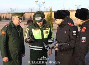 Владикавказские суворовцы готовятся к АрМИ-2021